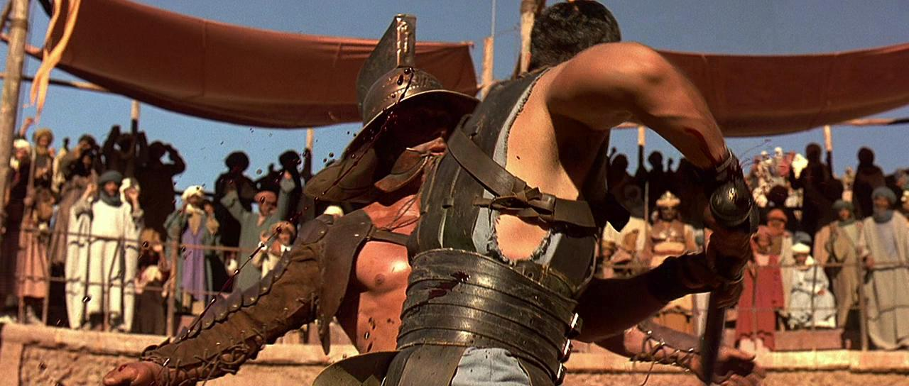 a review of the film the gladiator For all its grandeur, gladiator is a canned experience, a film that flails around awkwardly trying to find a reason to exist, or at least a compelling story to tell read full review 40.